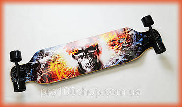 Лонгборд круизёр Speedriding Fire Skull для фрирайда