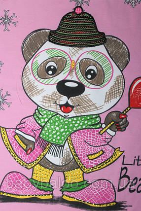 """Гольф дитячий """"Ведмедик з льодяником"""" ( від 3 до 6 років) начіс, фото 2"""