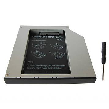 Фрейм-переходник Maiwo 2,5 12.7 mm HDD/SSD SATA IDE (NSTOR-12-IDE)