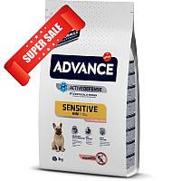 Сухой корм для собак Advance Mini Sensitive 7,5 кг