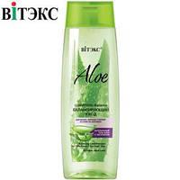 Витэкс - Aloe 97% Шампунь-Balance для волос Балансирующий уход для жирных у корней волос 400ml