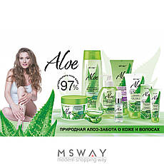 Витэкс - Aloe 97% Шампунь-Elixir для волос Интенсивный уход для сухих, ломких, тусклых волос 400ml, фото 2