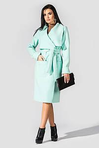 """Пальто из кашемира в стиле casual """"Мадрид"""" Mint 3074 #O/V"""