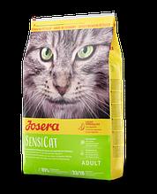 Josera SENSICAT корм для котов с чувствительным пищеварением 10kg