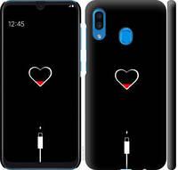 """Чехол на Samsung Galaxy A30 2019 A305F Подзарядка """"4274c-1670-25032"""""""