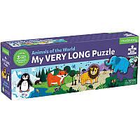 Пазлы Животные мира Mudpuppy Long Puzzle (30 деталей) (355246)