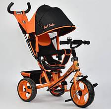 Трехколесный велосипед Best Trike 5700 Оранжевый с поворотным сиденьем
