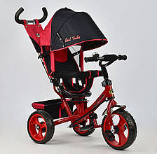 Трехколесный велосипед Best Trike 5700 Красный с поворотным сиденьем