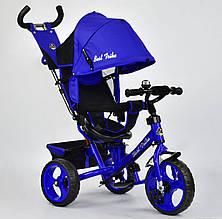 Трехколесный велосипед Best Trike 5700 Синий с поворотным сиденьем