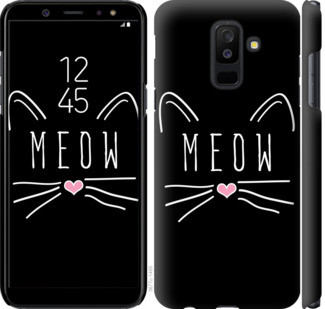 "Чехол на Samsung Galaxy A6 Plus 2018 Kitty ""3677c-1495-25032"""
