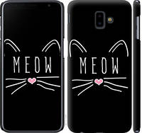 "Чехол на Samsung Galaxy J6 Plus 2018 Kitty ""3677c-1586-25032"""