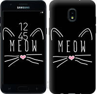 "Чехол на Samsung Galaxy J3 2018 Kitty ""3677u-1501-25032"""