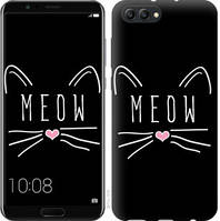 "Чехол на Huawei Honor V10 / View 10 Kitty ""3677u-1579-25032"""