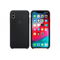 Чехол для моб. телефона Apple iPhone XS Max Silicone Case - Black, Model (MRWE2ZM/A), фото 1