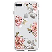Чехол для моб. телефона Spigen iPhone 8 Plus/7 Plus Liquid Crystal Aquarelle Rose (055CS22621), фото 1