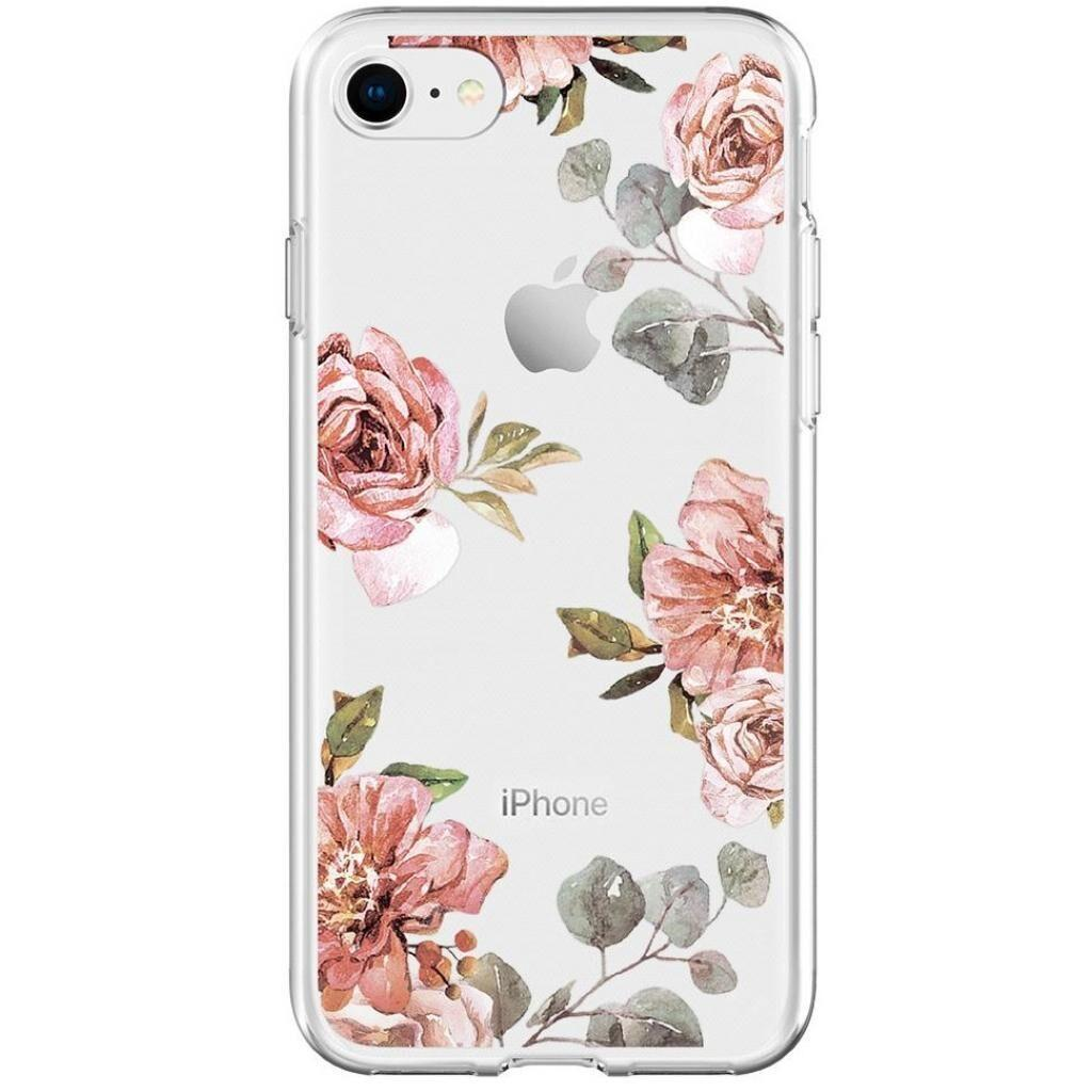 Чехол для моб. телефона Spigen iPhone 8/7 Liquid Crystal Aquarelle Rose (054CS22619)