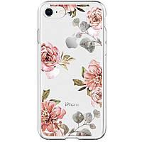 Чехол для моб. телефона Spigen iPhone 8/7 Liquid Crystal Aquarelle Rose (054CS22619), фото 1