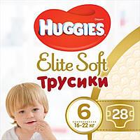 Подгузник Huggies Elite Soft Pants XXL 6 (16-22 кг) Mega 28 шт (5029053547718)