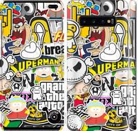 "Чехол на Samsung Galaxy S10 Plus Popular logos ""4023c-1649-25032"""