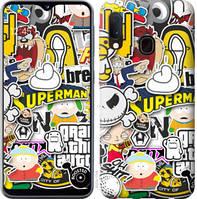 """Чехол на Samsung Galaxy A10s A107F Popular logos """"4023u-1776-25032"""""""