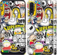 """Чехол на Samsung Galaxy A50 2019 A505F Popular logos """"4023c-1668-25032"""""""