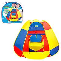 Палатка детская пирамида 160-160-115см, 2 входа на липучках