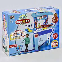 Набор доктора 008-925 (8) 2в1, в чемодане, в коробке
