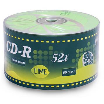 Диск CD KAKTUZ 700MB 52X Bulk 50 pcs LIME (901OEDRKAF023)