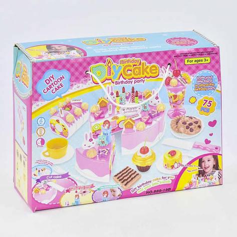 Набор сладостей НА ЛИПУЧКАХ 889-19 В (48) песня на английском языке, свет, в коробке , фото 2