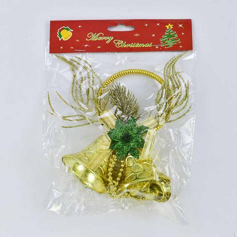 Новогоднее украшение С 30528  Подвеска (240) 1шт в кульке, фото 2