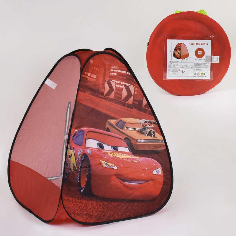 Палатка детская Машинки HF 048 (72/2) 77х77х93 см, в сумке