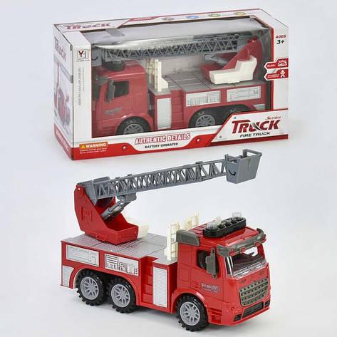 Пожарная машина 98-616 А (36) свет, звук, в коробке, фото 2