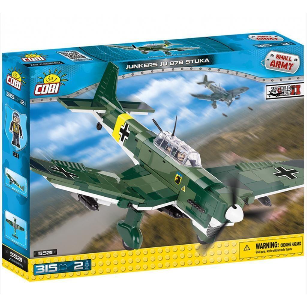 Конструктор Cobi Вторая Мировая Война Самолет Юнкерс Ю-87, 315 деталей (5902251055219)