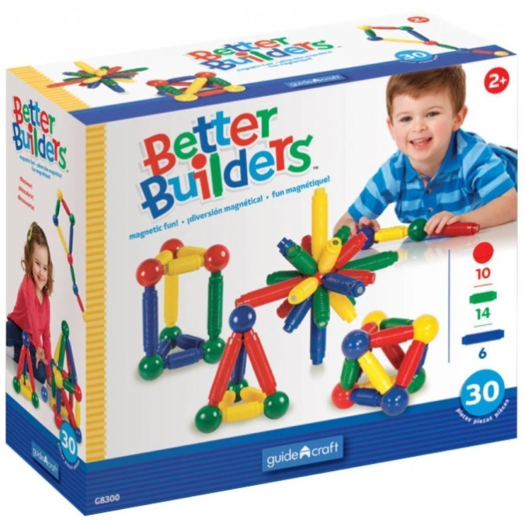 Конструктор Guidecraft Better Builders, 30 деталей (G8300)