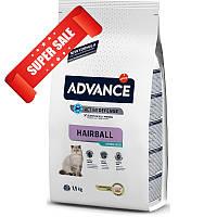 Сухой корм для кошек Advance Sterilized Hairball 10 кг