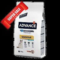 Сухой корм для кошек Advance Sterilized Sensitive 1,5 кг