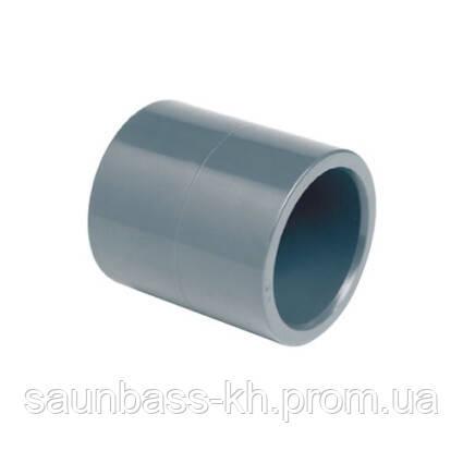 Муфта ПВХ Effast RDRMAD0630 соединительная, d63 мм