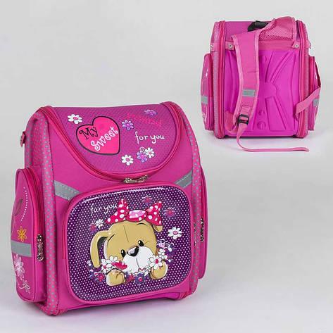Рюкзак школьный каркасный C 36194 (40) 1 отделение, 3 кармана, спинка ортопедическая, 3D принт, фото 2