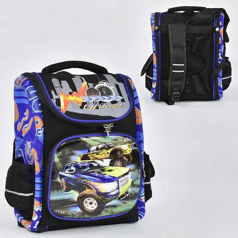 Рюкзак школьный каркасный N 00133 (40) 1 отделение, 3 кармана, спинка ортопедическая, 3D принт, фото 2