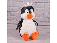 Мягкая игрушка пингвин с короной