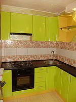 Кухня Лайм глянець