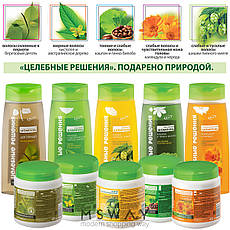 Bielita - Целебные решения Шампунь чистотел и чайное дерево против жирности волос 480ml, фото 2