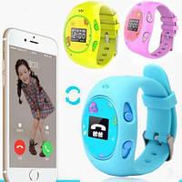 Детские часы с GPS-трекером G65 Розовые  смарт часы  умные часы, фото 1