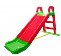 Детская горка для катания Фламинго, высота 140 см, код 0140/1