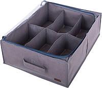 Органайзер для обуви на 6 пар Organize Grey-O-6 серый - 176240