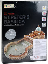 3D пазлы Собор Святого Петра B568-2