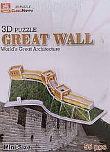 3D пазл Великая Китайска стена B668-12