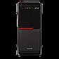 Корпус LP 2010-400W 8см black case chassis cover с 2xUSB2.0, фото 2