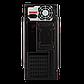 Корпус LP 2011-400W 8см black case chassis cover с 2xUSB2.0 и 1xUSB3.0, фото 4