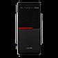 Корпус LP 2011-500W 12см black case chassis cover с 2xUSB2.0 и 1xUSB3.0, фото 2